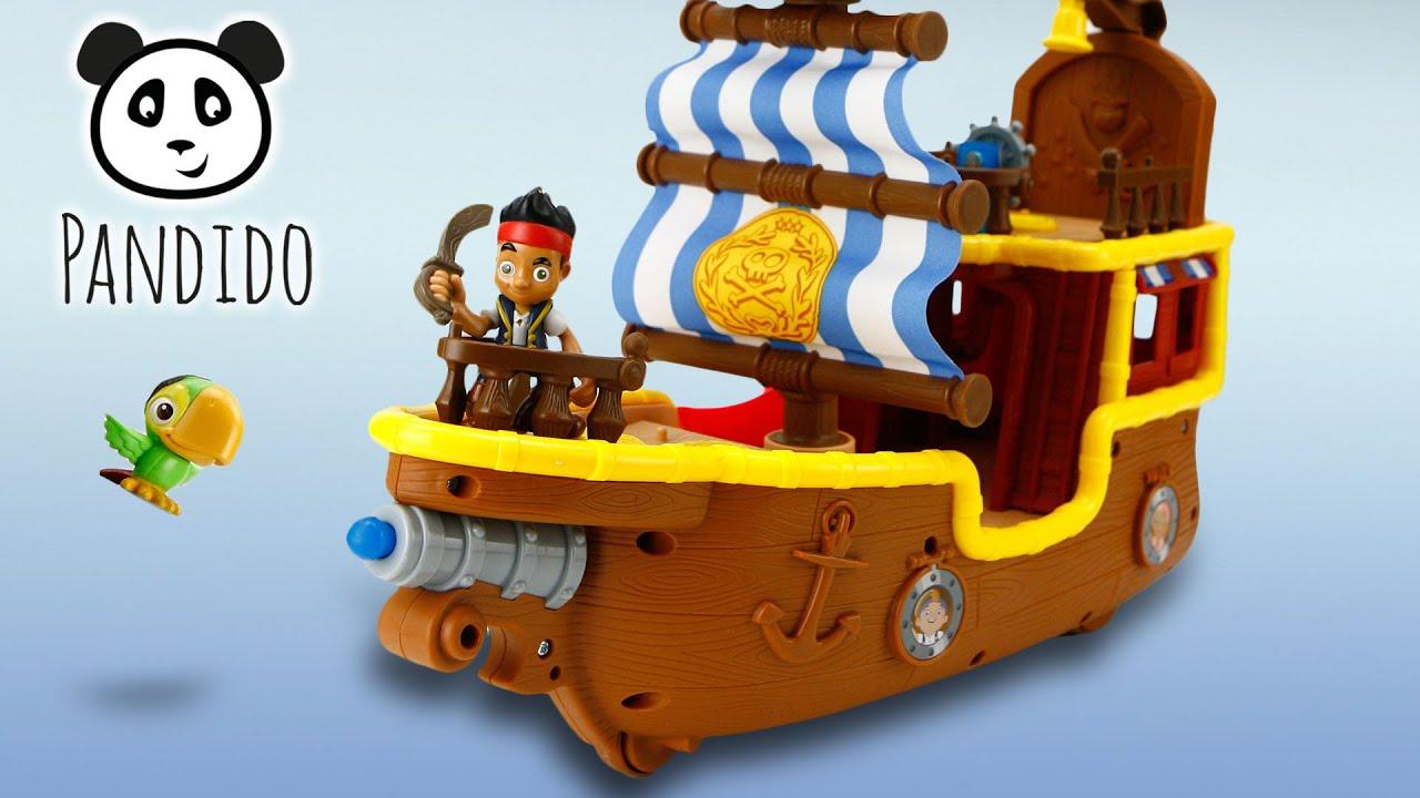 ⭕ jake und die nimmerlandpiraten piratenschiff bucky