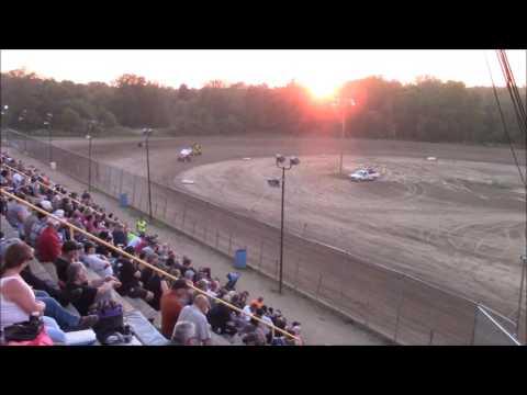 Butler Motor Speedway Sprint Heat #2 7/29/17