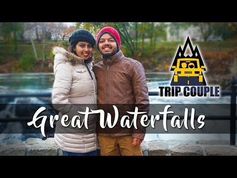 മലയാളം ട്രാവൽ വീഡിയോ | Paterson Great Waterfalls | New Jersey | Trip Couple | Malayalam Vlog