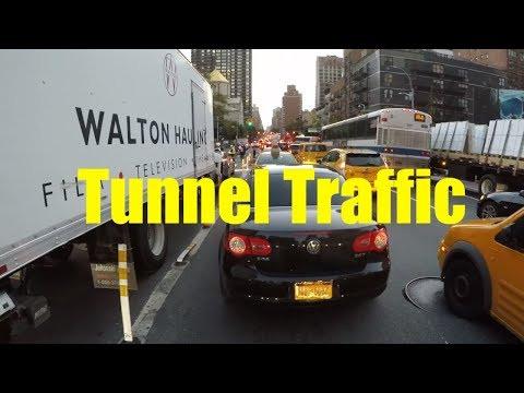 How to Navigate the Queens-Midtown Tunnel entrance on 2nd Av