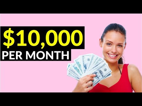 Earn $10,000 Per Month Online! (Simple Way to Make Money Online)