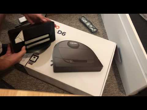 Unboxing Neato Robotics D650 Exclusive Pet Edition - Robot vacuum cleaner with charging station