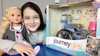 Review: Cadeira de Rodas para Bonecas Journey Girls - Julia Silva