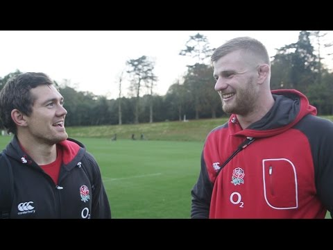 2014 QBE Internationals player diary 1 #O2InsideLine