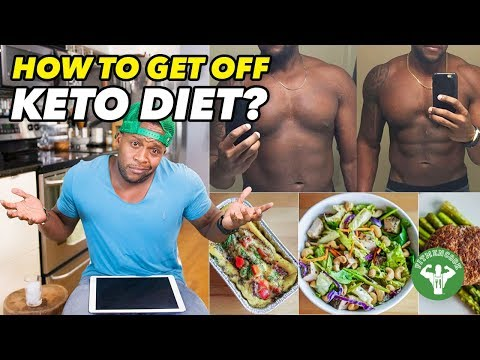 how to wean off keto diet