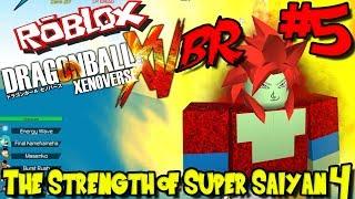 THE STRENGTH OF SUPER SAIYAN 4! | Roblox: Dragon Ball Xenoverse BR - Episode 5