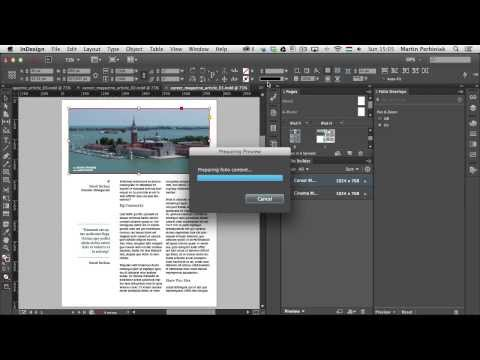 Digital Publishing With InDesign CC: Pan & Zoom and Web Content