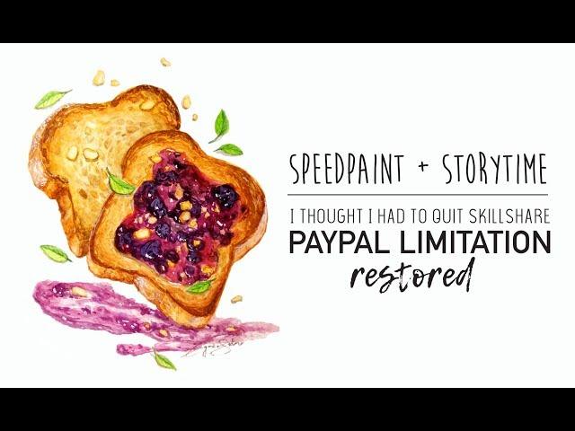 Blackberry Toast Speedpaint and Storytime