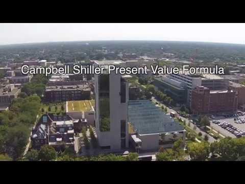 3.3 Campbell-Shiller Present Value Formula