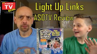 Light Up Links As Seen On Tv Review With Nick And Shane | Do Light Up Links Really Work?