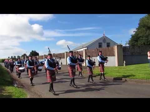 Quinn Memorial Pipe Band - 12th July 2017