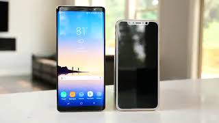 Samsung note 8 vs IPHONE 8 | NEW PHONES | REVIEWS