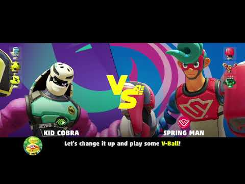 ARMS Grand Prix Easy Mode Speedrun Attempt 3 Kid Cobra  is Awesome if you got Synergy