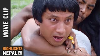 Hero Ko Role - New Nepali Movie PASHUPATI PRASAD Scene 2016/2073 | Khagendra Lamichhane