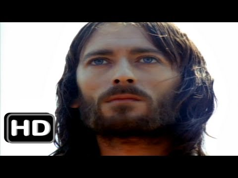 ♔ Jesus of Nazareth  ✝  Part 1  ✝   Robert Powell ✦