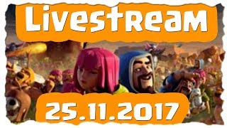 CK LIVE - EVENT - FARMEN - CHILLEN | Clash of Clans Deutsch [German] | Let´s Play COC