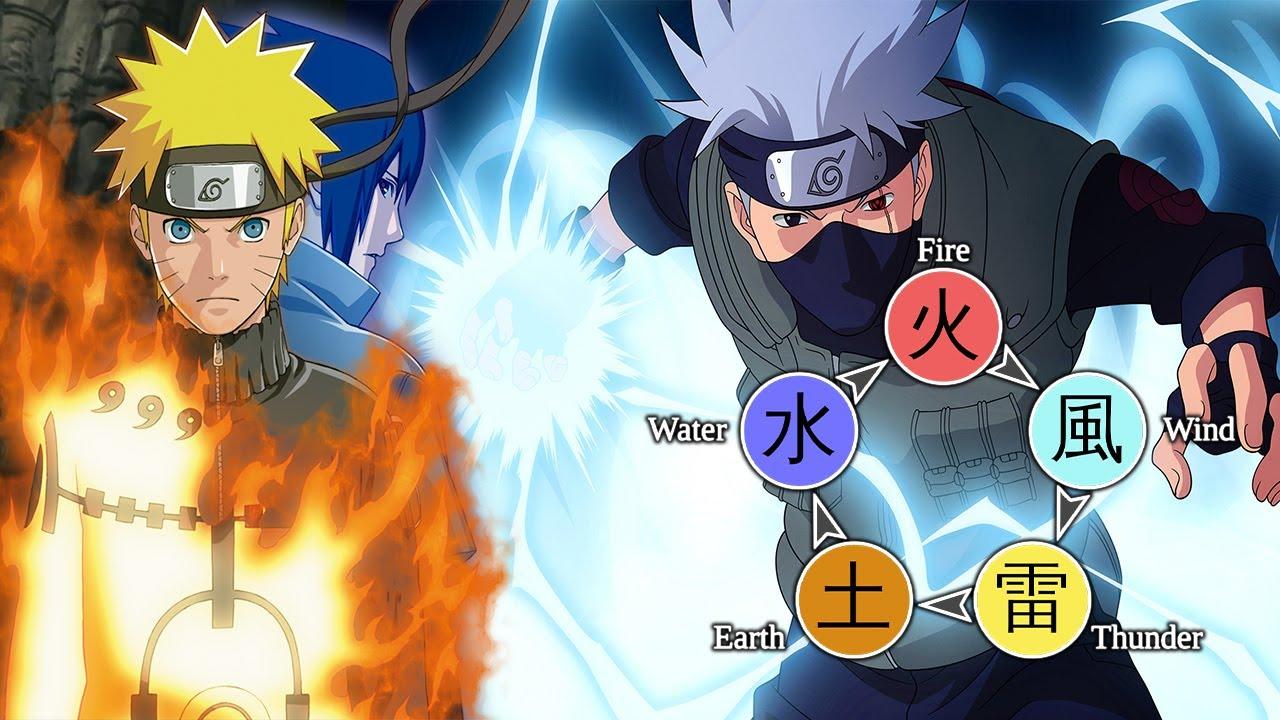 Tất Tần Tật Về Những Nguyên Tố Cơ Bản Trong Naruto I Bi Huỳnh Senpai