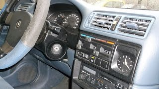 Opel vectra A 1992 G T 2.0 I rejtett kincsei (SLIDE SHOW ENTERIOR)
