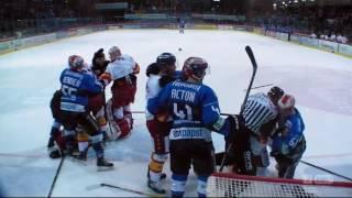 Schlägerei Schwenninger Wild Wings - Düsseldorfer EG