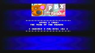 ParaDoX - Spyro 3 Year of the Dragon Cracked PAL - NTSC +02 with PDX Startup (Rare footage)