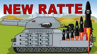 'Tank Ratte 3000 the Warrior of Armageddon'  Cartoon about tanks