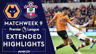 Wolves v. Southampton | PREMIER LEAGUE HIGHLIGHTS | 10/19/19 | NBC Sports