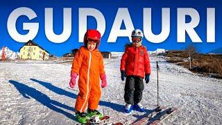 Гудаури Детская горнолыжка