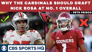Why the CARDINALS should DRAFT NICK BOSA at No. 1 overall - 2019 NFL Draft | CBS Sports HQ