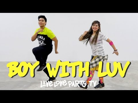 Boy With Luv by BTS x Halsey   Live Love Party™   Zumba®   Dance Fitness