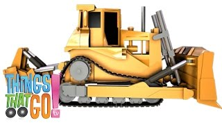 BULLDOZER: Construction trucks for children. Kids Videos. Preschool | Kindergarten learning.