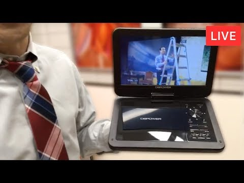 Best Portable DVD Player of 2017 - Deal Guy Live