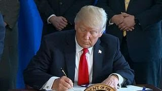 Trump signs landmark legislation to reform the VA