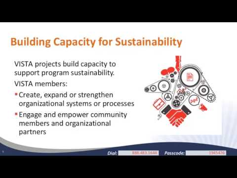 Beyond VISTA: Project Sustainability Approaches and Strategies