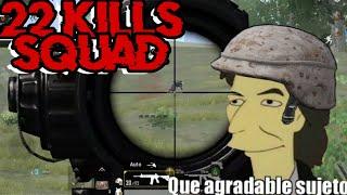Que Agradables Sujetos | 22 kills SQUAD PUBG Mobile (Probado en Samsung A7 2018)