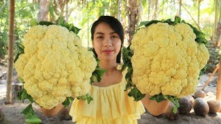 Yummy cooking cauliflower with beef recipe - Cooking skill