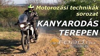 Motorozási technikák, 27. rész: Kanyarodás laza talajon - Onroad.hu