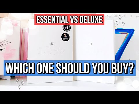 ✧Unboxing/Comparing BOTH Versions of BTS' BE Album (Deluxe & Essential)✧