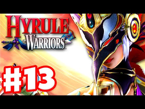 Hyrule Warriors - Gameplay Walkthrough Part 13 - Link at the Valley of Seers! Cia Boss! (Wii U)