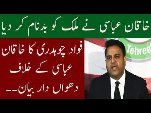 Fawad Chaudhary Lashes Out On PM AbbasI