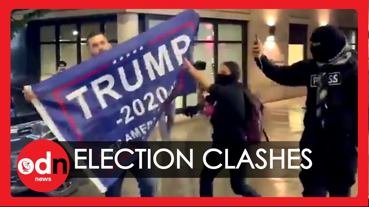 US Election 2020: Clashes in Some US Cities During Election Night Protests