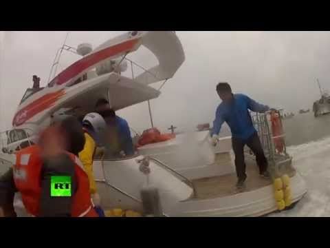 South Korea ferry: Dramatic first-hand rescue team Go-Pro-style video