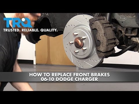 How to Replace Front Brakes 2006-10 Dodge Charger