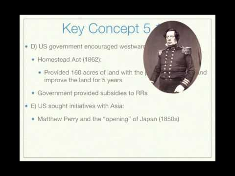APUSH Review: Key Concept 5.1, revised (Most up-to-date edition)