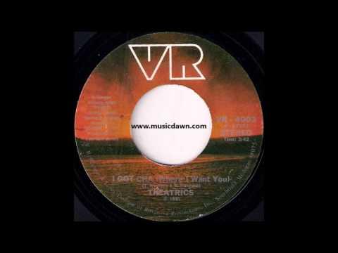 Theatrics - I Got Cha (Where I Want You) [V.R. Records & Tapes] '1980 Sweet Modern Soul 45