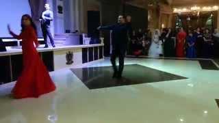 Магамаев Ризван и Асламбек лезгинка в караганде 2014 Ингушская свадьба