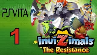 Invizimals - The Resistance - PS Vita Let's Play Walkthrough Part 1 - Join The Alliance!