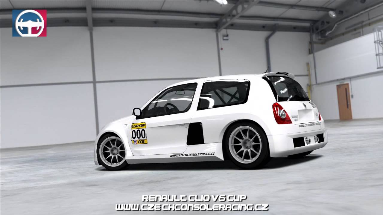 ccr renault clio v6 cup promo youtube. Black Bedroom Furniture Sets. Home Design Ideas