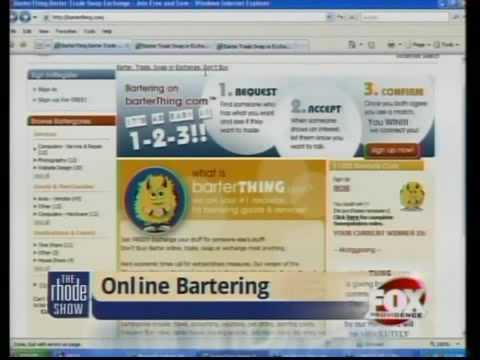 Online Bartering