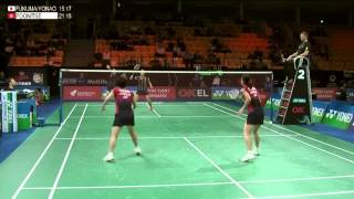 World Record in badminton! 255 hits! -2015-