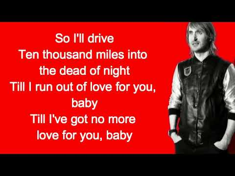 David Guetta & Black Coffee - Drive feat  Delilah Montagu Lyrics